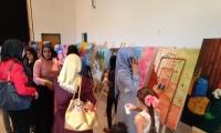 مركز ارت لاين يفتتح المعرض الاكبر في البلاد للفن التشكيلي في المركز الجماهيري الحوارنه كفر قرع